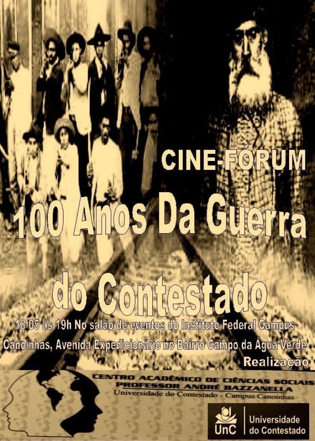 Cine-Fórum 100 anos da guerra do Contestado