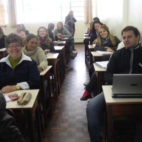 Nova turma de Ciências Sociais (UnC-Mafra)